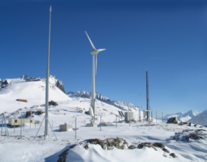 alpine test site